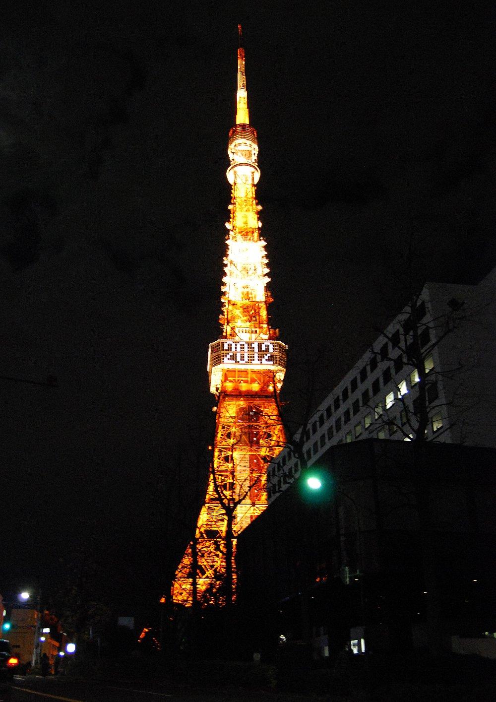 荒い東京タワー2012年