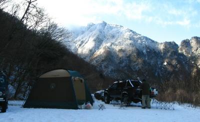 本格的冬キャンプ