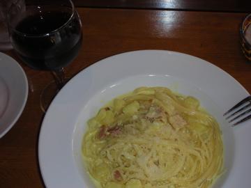 カレー風味クリームソーススパゲティ2@イルソーレ