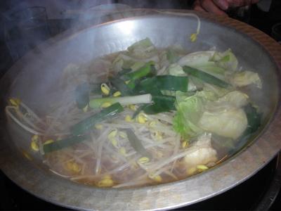 とりつみれの鍋