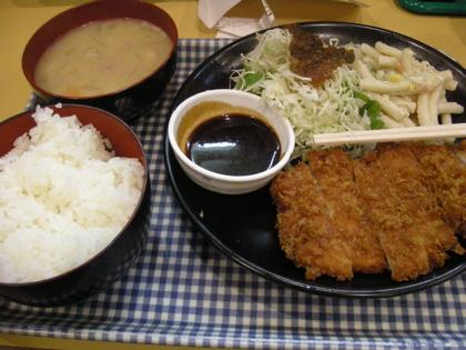 五番館 とんかつ定食1