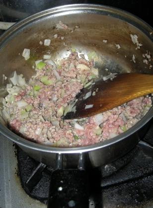 朝から麻婆豆腐2