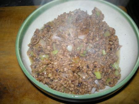 朝から麻婆豆腐3