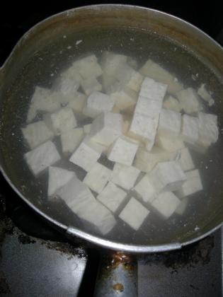 朝から麻婆豆腐4