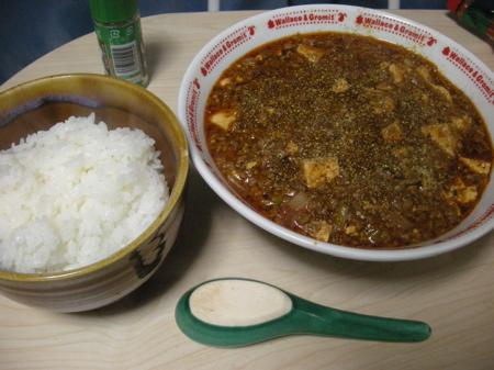 朝から麻婆豆腐6