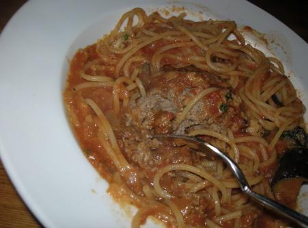 ポルペッティのスパゲッティ2