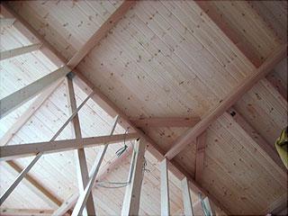 0122天井板張り