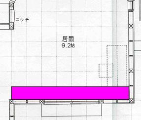 0122リビング天井図面