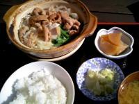 モツ鍋定食