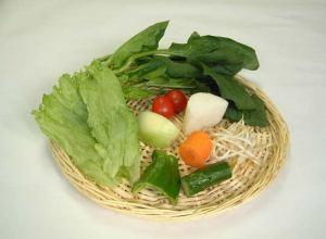 「野菜 350g」 1日に必要な量です。