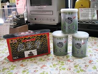 「 亀ゼリー 」 中国の滋養強壮食品
