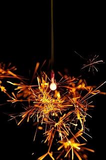 日本の夏 「 線香花火 」