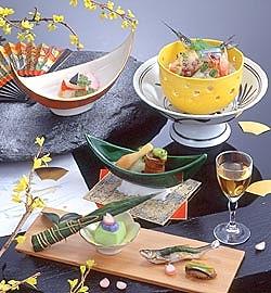 日本料理が最も大切にしてきたのは 「 季節感 」