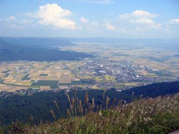 かぶと岩からの風景