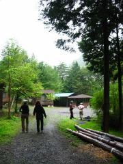 小菅村・キャビンとキャンプ場