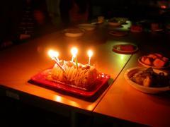 まゆバースデーケーキ