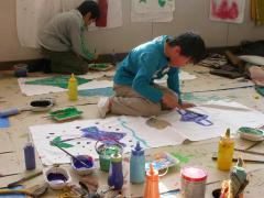 洋服屋の絵描き職人