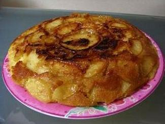 簡単りんごケーキ