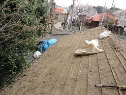 未来住建地震被害屋根工事②