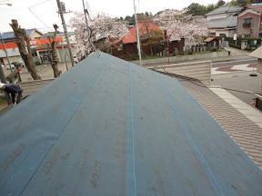 未来住建地震被害屋根工事④