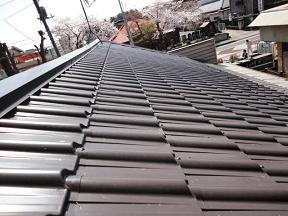 未来住建地震被害屋根工事⑤