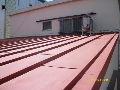 未来住建屋根塗装4月物件