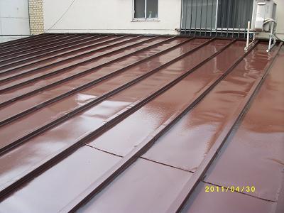 未来住建屋根塗装4月物件仕上げ