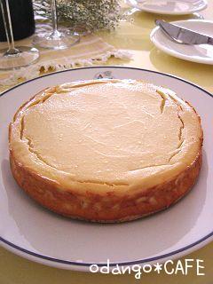 まったり美味しい♡シンプル豆腐チーズケーキ