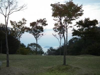 琵琶湖が見える!