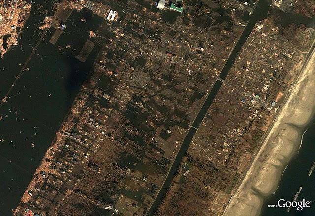 被災後 宮城県仙台市若林区荒浜