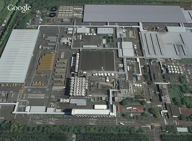 宮城県仙台市宮城野区港(キリンビール仙台工場、2009)