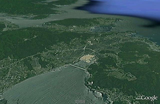 陸前高田2、津波前(2005)