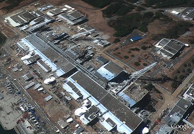 福島第一発電所、3月18日