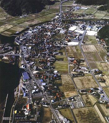 大田地区空撮:平成17年2月頃