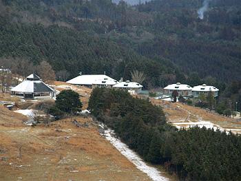 山口県秋吉台少年自然の家・冬