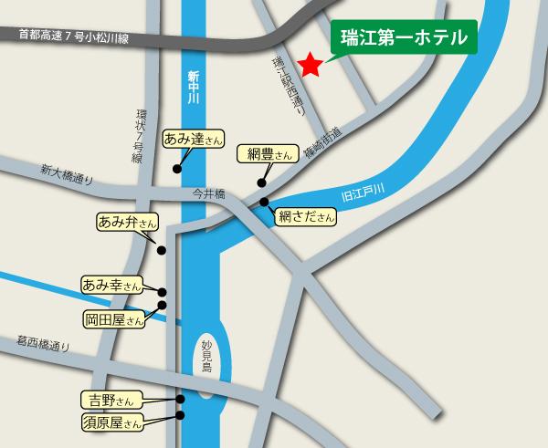 江戸川区船宿MAP