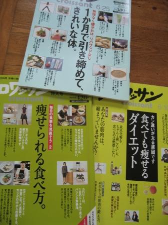 ダイエットの雑誌