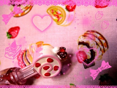 いちごのロールケーキ♥♥