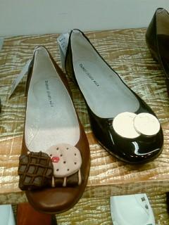 お菓子なお靴