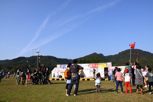 いいねっか村上2011 三面川中州公園