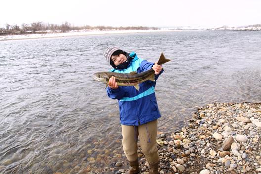 2011荒川鮭釣り 最終日 12月20日