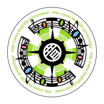 音楽イベントのロゴデザイン・ステッカー