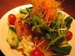 鯛の中華風サラダ