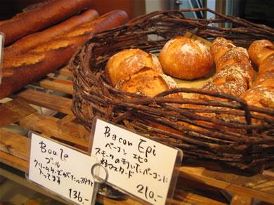 ハード系のパンが充実