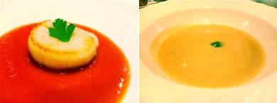 なんと栗のスープ!