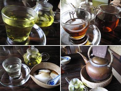 食後はもちろん中国茶