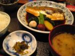 煮魚定食はサバでした