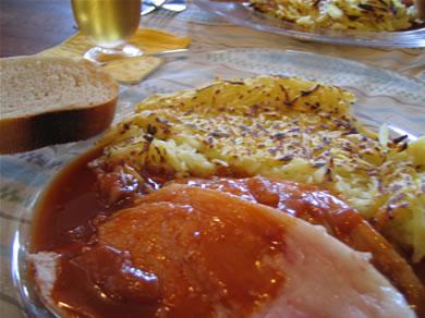 フランス家庭料理ランチ♪