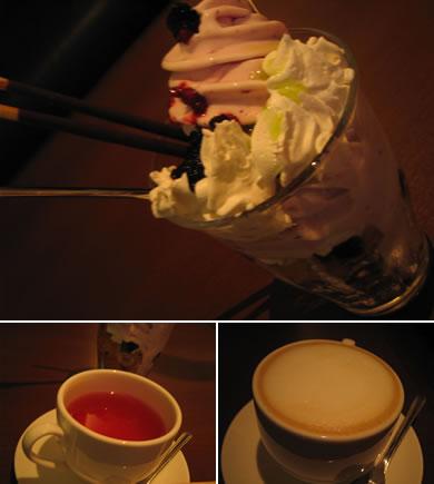 お酒もお茶もあります