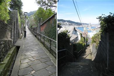 南山手の坂2景